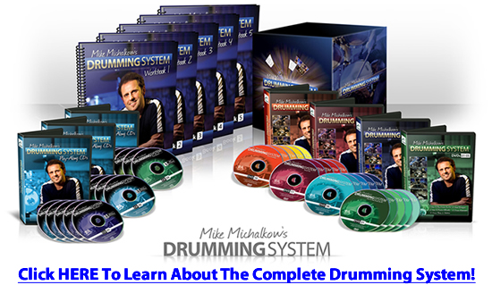 Drum Lessons - Advanced Rock Drum Beats Two (sixteenth notes)